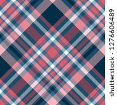 plaid check seamless pattern in ... | Shutterstock .eps vector #1276606489