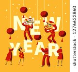 chinese new year festival...   Shutterstock .eps vector #1276622860