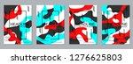 modern business flyer  booklet  ... | Shutterstock .eps vector #1276625803