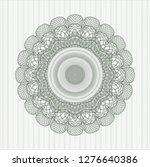 green abstract linear rosette | Shutterstock .eps vector #1276640386