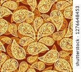 abstract seamless pattern with... | Shutterstock . vector #1276648453