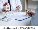 real estate agent sales manager ... | Shutterstock . vector #1276682986