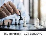 hands of confident businessman...   Shutterstock . vector #1276683040