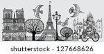 vector illustration of an... | Shutterstock .eps vector #127668626