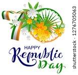 70 anniversary of india happy... | Shutterstock .eps vector #1276705063
