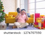 young asia dad and daughter in... | Shutterstock . vector #1276707550