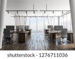 modern coworking office... | Shutterstock . vector #1276711036