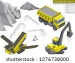 Isometric Set Of Quarrying...