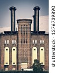 the powerhouse  ancient... | Shutterstock . vector #1276739890