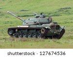 United States Marines Patton Tank