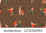 hand drawn vector abstract...   Shutterstock .eps vector #1276760593