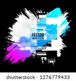 abstract vector design...   Shutterstock .eps vector #1276779433