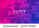 abstract vector background.... | Shutterstock .eps vector #1276779469