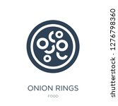 onion rings icon vector on...   Shutterstock .eps vector #1276798360