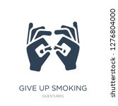 Give Up Smoking Icon Vector On...