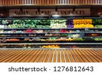 panoramic view of vegetable... | Shutterstock . vector #1276812643
