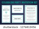 great christmas invitation in... | Shutterstock .eps vector #1276813456