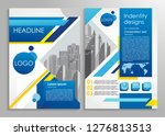 business brochure or... | Shutterstock .eps vector #1276813513
