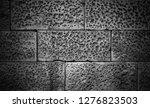 stone wall background in black...   Shutterstock . vector #1276823503