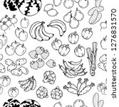 pattern of vector illustrations ... | Shutterstock .eps vector #1276831570