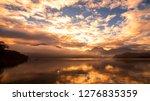 reflection beautiful landscape... | Shutterstock . vector #1276835359