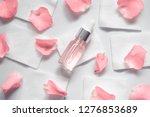 homemade skincare natural rose... | Shutterstock . vector #1276853689