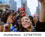 Carnaval Party. Group Of Brazi...