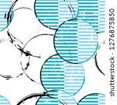 seamless background pattern ... | Shutterstock .eps vector #1276875850
