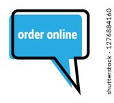 order online sign   speech...