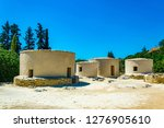 reconstructed neolithic... | Shutterstock . vector #1276905610