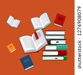 books background. science... | Shutterstock .eps vector #1276908079