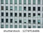 modern office building exterior   Shutterstock . vector #1276916686