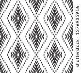 ethnic seamless pattern. boho... | Shutterstock .eps vector #1276935916