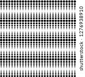 Illusion Black Dots Pattern