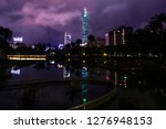 cityscape night lignt view of... | Shutterstock . vector #1276948153