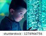 child in therapy sensory... | Shutterstock . vector #1276966756