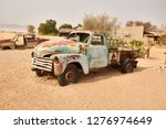 old car in solitaire  namibia | Shutterstock . vector #1276974649