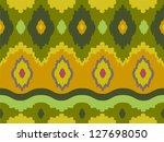 background illustration of ikat ...