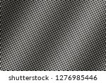 white dot on black halftone... | Shutterstock .eps vector #1276985446