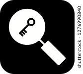 vector keyword search icon  | Shutterstock .eps vector #1276990840