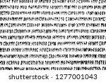 grunge background written in...   Shutterstock .eps vector #1277001043