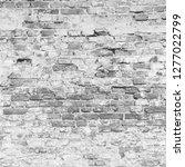 white brick wall texture... | Shutterstock . vector #1277022799