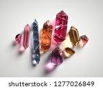 3d render  assorted colored... | Shutterstock . vector #1277026849