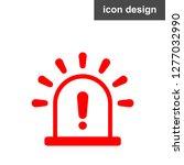 sos notification warning | Shutterstock .eps vector #1277032990
