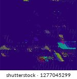 abstract vector background dot... | Shutterstock .eps vector #1277045299