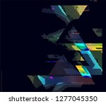 abstract vector background dot... | Shutterstock .eps vector #1277045350