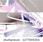 abstract vector background dot... | Shutterstock .eps vector #1277045353