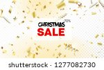 modern tinsel confetti isolated ... | Shutterstock .eps vector #1277082730