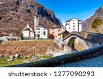 mountain  switzerland  bridge   ... | Shutterstock . vector #1277090293