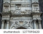 the new castle in naples  italy. | Shutterstock . vector #1277093620